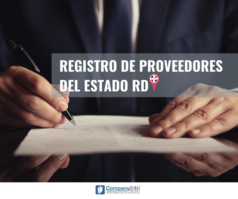 Registro de Proveedores del Estado en República Dominicana